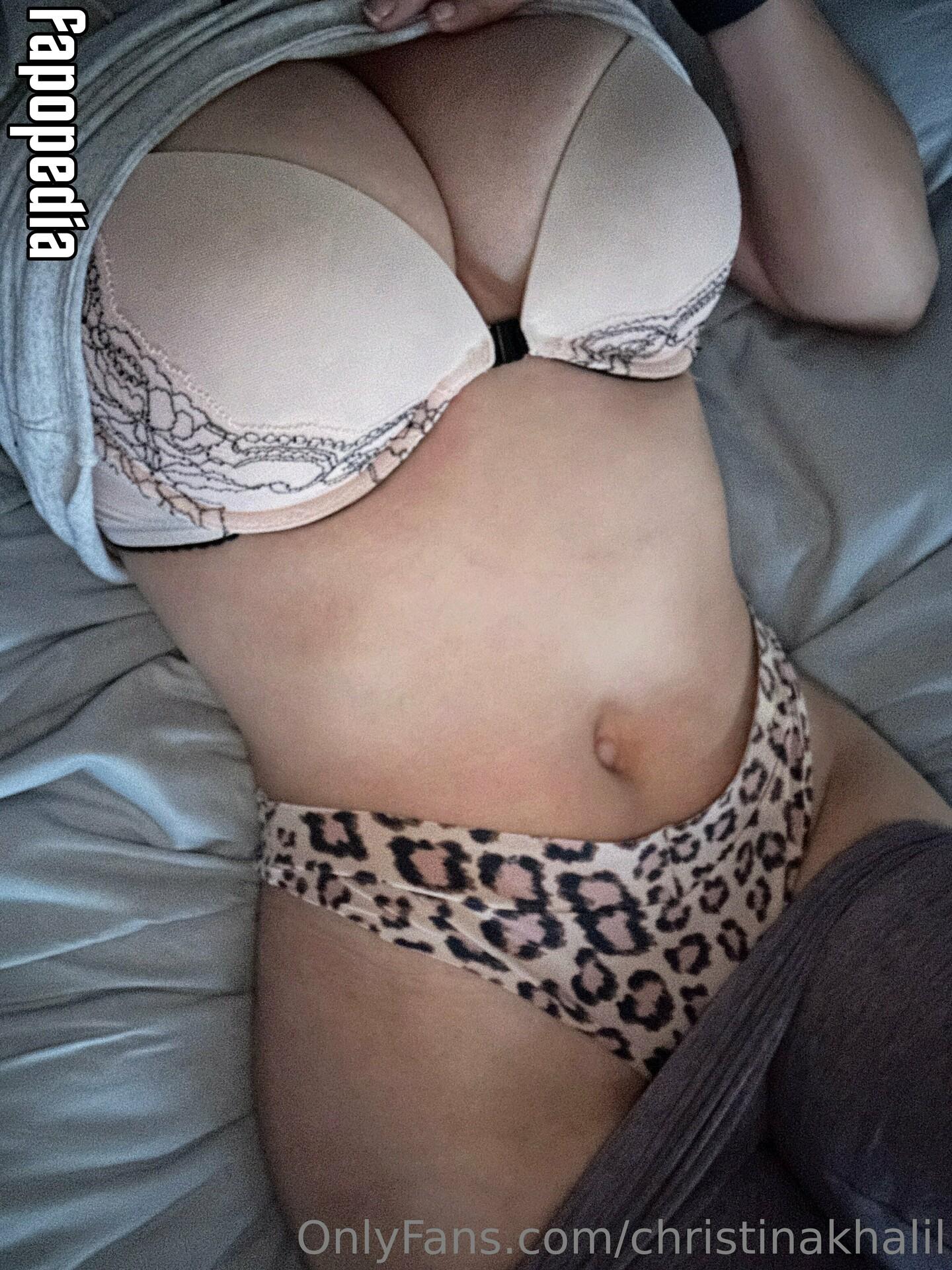 Christina Khalil Nude OnlyFans Leaks Patreon Leaks