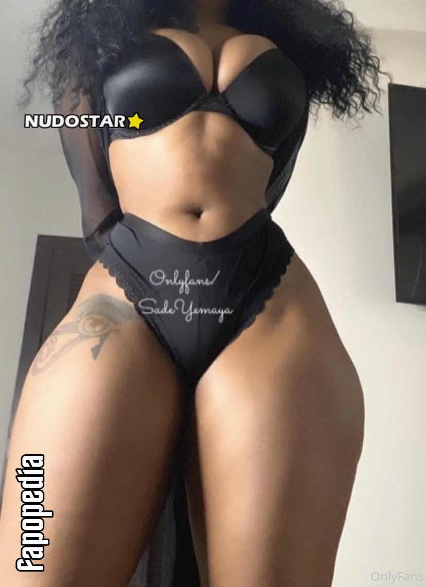 Sadeyemaya Nude OnlyFans Leaks